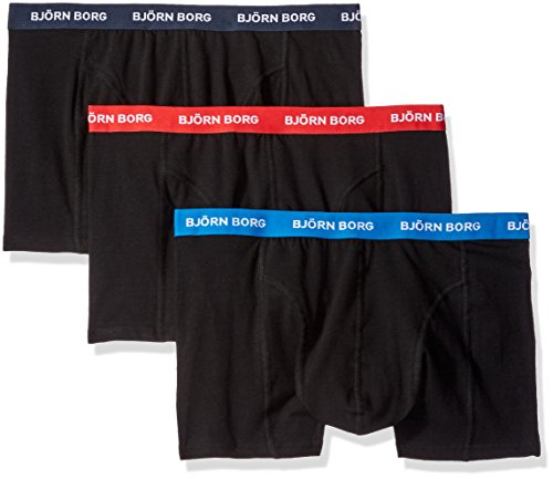 bjorn-borg-noos-contrast-solids-pack-of-3-boxer-homme-black-colored-bands-medium
