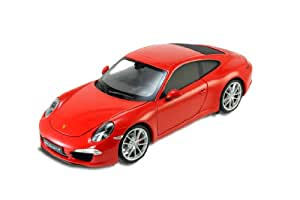 Welly - 18047 - Véhicule Miniature - Modèle À L'échelle - Porsche 911/991 Carrera S - Echelle 1/18 - Coloris aléatoire
