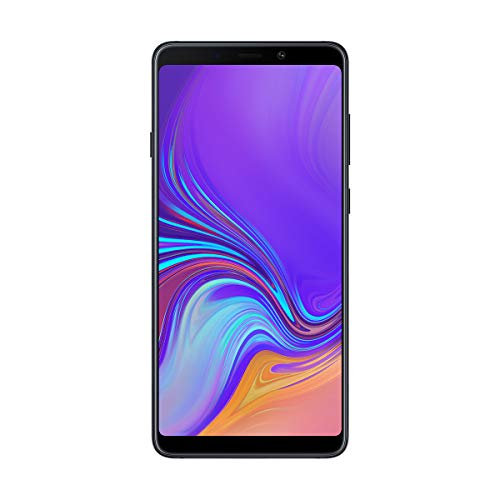 "Samsung Galaxy A9 - Smartphone de 6.3"" (4G, Octa-Core, RAM de 6 GB, Memoria de 128 GB, 4 cámaras de 24+5+10+8 MP, Android) Color Negro"