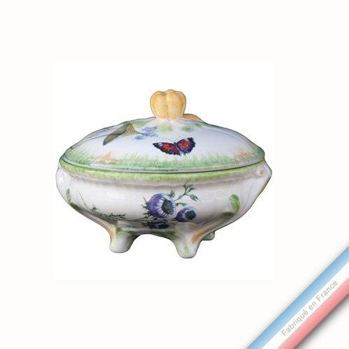 Collection FOLIES BOTANIQUES - Bonbonnière ronde Louis XV - 0 - Lot de 1