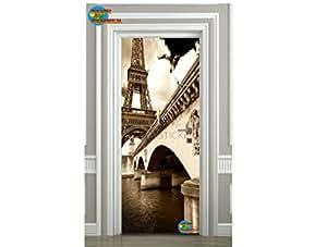 Sticker pour Porte plane Tour Eiffel réf 056