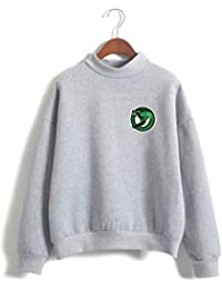SERAPHY Unisexe Riverdale Pullover Southside Serpent Rollkragenpullover Sweatshirt
