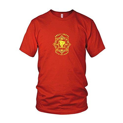 Angel Grove Academy - Herren T-Shirt, Größe: XXL, Farbe: ()