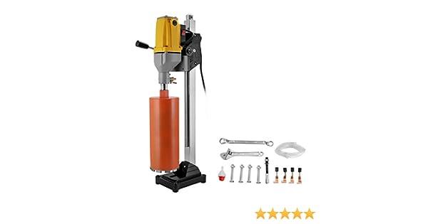 """6/"""" Diamond Core Drill Concrete Drilling Machine with Stand /& Drill Bits 2180W"""