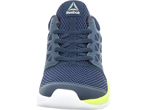 Reebok Bd5534, Sneakers trail-running homme Bleu (Collegiate Navy/solar Yellow/white/pewte)