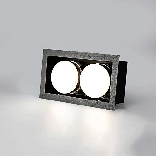 BTBAM 2-Lichter 10W / 18W LED COB Energy Saving Down Indoor Clothing Store Mall Flush Mount Deckenverkleidung-Licht Haushalt Energiespar Porch Embedded Spotlight Lighting -