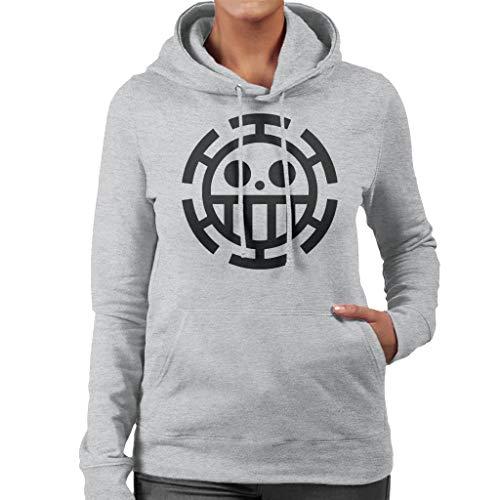 One Piece Heart Pirates Law Women's Hooded Sweatshirt