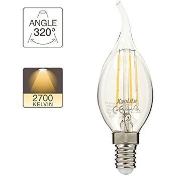 Cp Ampoule Flamme Blanc 470 Lumenséqui40w A Led Chaud Filament TlcKFJ1