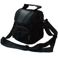 Waterproof Black Camera Case for Canon 1300D,1200D,2000D, 4000D,100D,200D,800D,750D,700D,77D,70D 80D,7D,SX60,Nikon D3300,D3200,D3400,D7200,D5300,D5500 D5600,B900,P900,Sony Alpha,Panasonic Lumix FZ2000,FZ82,Fuji Olympus, Pentax DSLR