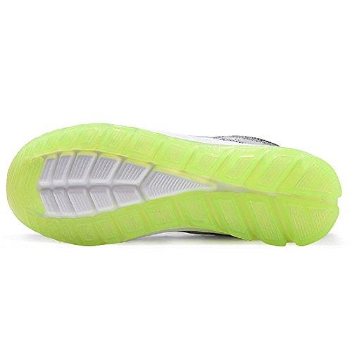 Hommes Chaussures de sport Le nouveau Respirant Augmenté Confortable Entraînement Chaussures de course blue green