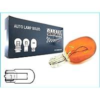 Confezione Da 10 Pezzi Lampada Alogena T20 WY21W 12V 21W Arancione Amber