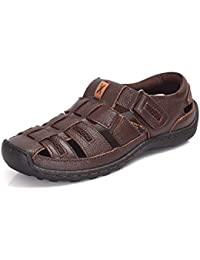 Burwood Men's Leather Fisherman Sandals