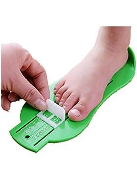 Longra Kinder Baby Fuß Schuh Größe Maß Werkzeug Säugling Gerät Lineal Kit