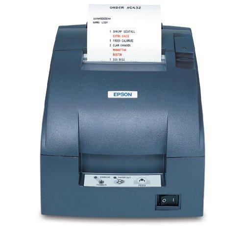 Epson Drucker Cutter (Epson Drucker für Quittungen TM-U220B (057A0) grau)