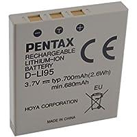 vhbw Li-Ion Batterie 700mAh (3.7V) pour appareil photo, caméscope Pentax Optio A10, A20, A30, A40, E75, E85, L20, M85, S, S4, S4i comme D-Li8, NP-40.