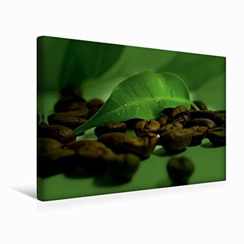Premium Textil-Leinwand 45 cm x 30 cm quer Kaffee Impression | Wandbild, Bild auf Keilrahmen, Fertigbild auf echter Leinwand, Leinwanddruck (CALVENDO Lifestyle) (Kaffee-haus-sammlung)