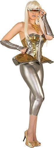femmes SCI FI costume déguisement accessoire FUTURISTE Cyborg lunettes
