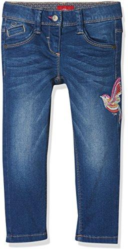 s.Oliver Mädchen Jeans 53.712.71.2966, Blau (Blue Denim Stretch 56Z5), 122