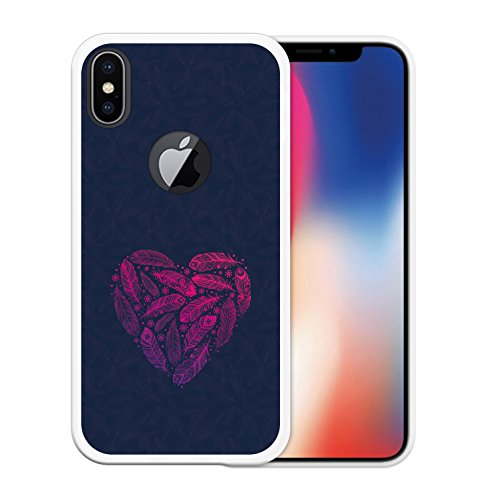 iPhone X Hülle, WoowCase Handyhülle Silikon für [ iPhone X ] Never Stop Dreaming Handytasche Handy Cover Case Schutzhülle Flexible TPU - Transparent Housse Gel iPhone X Transparent D0452