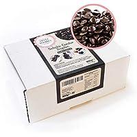 Sweet Wishes Gotas de chocolate negro belga para fondue. 900 gr. Una delicia suave para fuentes o fondue de chocolate. 10 sobres embalados individualmente.