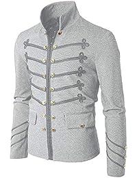best website 67640 a8df2 Amazon.it: Giacca Collo Coreana - Uomo: Abbigliamento