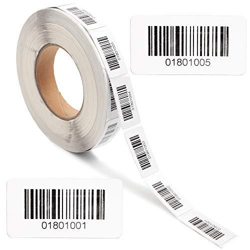 Details ST750 Passend f/ür Nr. 1001-2000 ST750 Set Benning Barcodeetiketten