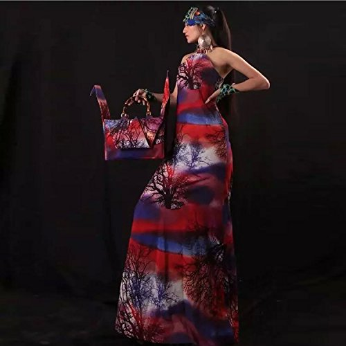 pliable mille origami grues type sac à main / bambou poignée sac / sacoche / sac à bandoulière/Sacs portés épaule/Sacs portés main pattern 5 type pourpre