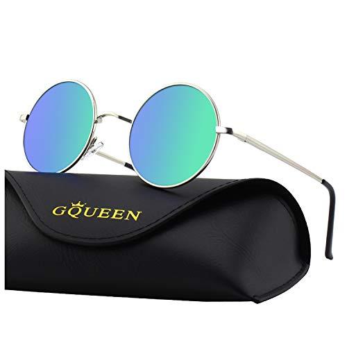 GQUEEN Classic Lennon Ronda gafas sol polarizadas