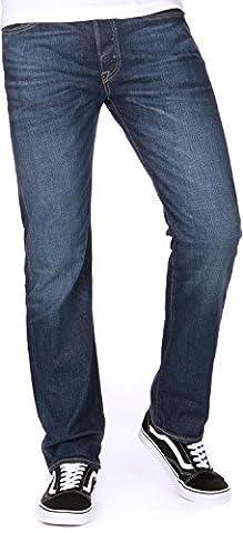 Levi's® Herren Jeans 501® Originalt Fit - Blau - Galindo , Größe:W 34 L 30;Farbe:Galindo (1589) (Strauß Denim)