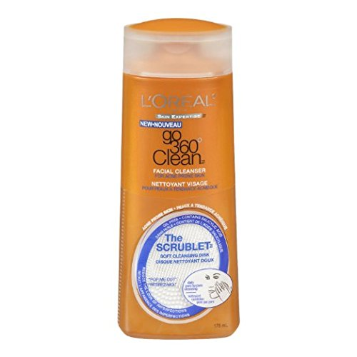 L'Oreal Paris Go 360 Clean Anti-Breakout Facial Cleanser, 6.0 fl. oz. (Pack of 2)  available at amazon for Rs.3151