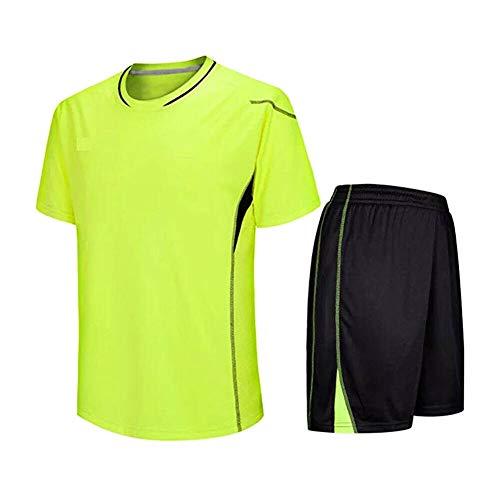Fußball Kostüm Sie Machen Ein - Meijunter Kind Erwachsene Fußball T-Shirt & Shorts Set - Team Training Wettbewerb Sportbekleidung Im Freien Kostüm Soccer Jerseys Uniforms