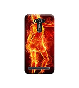 EPICCASE Premium Printed Back Case Cover With Full protection For Asus Zenfone 2 Laser ZE550 (Designer Case)