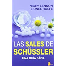 Las sales de Schussler (Spanish Edition) by Nigey Lennon (2013-01-01)
