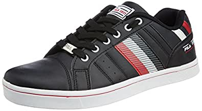 Fila Men's Black and Red  Sneakers (11000679) -11 UK/India (45 EU)
