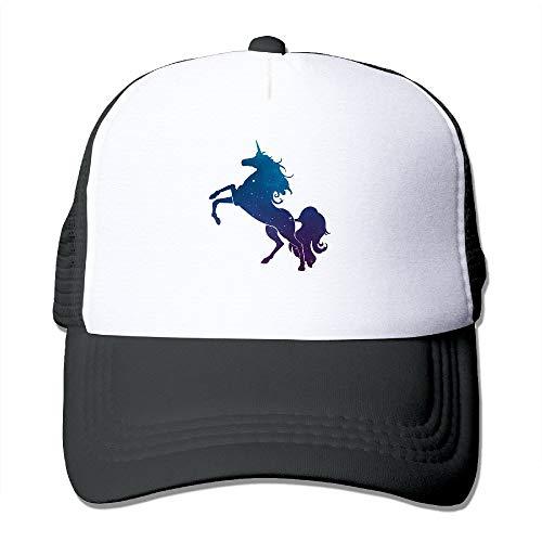 Unicorn Galaxy Space Horse Hip-Hop Neutral Gift For Friends Cool Baseball Cap -