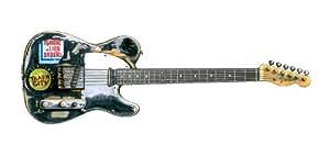Carte de voeux de Joe Strummer Fender Telecaster guitare, DL taille