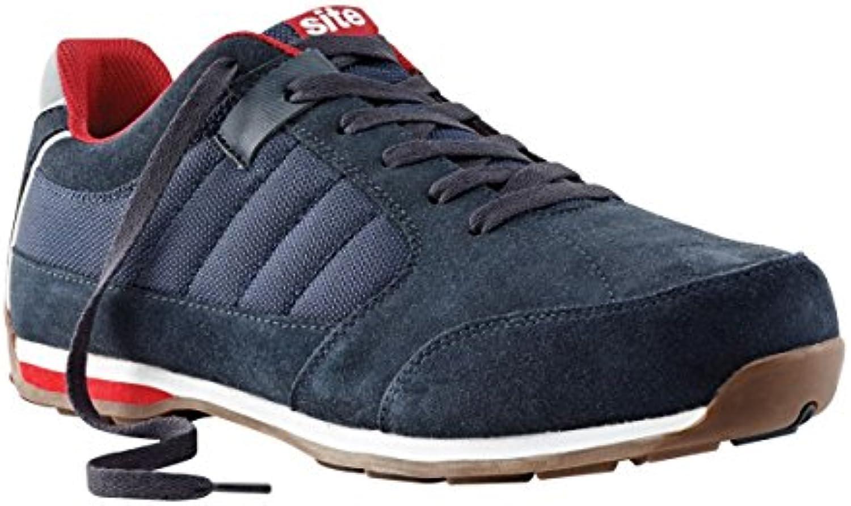 Sitio estratos seguridad Zapatillas Azul Marino tamaño 10