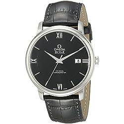 Omega–Reloj de Pulsera analógico automático para Hombre Piel 42413402001001