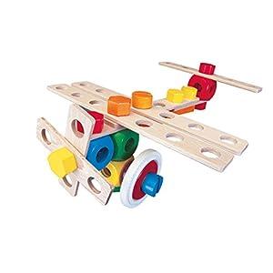 Baufix 3in1 - Juego Avión, 37 piezas, Multicolor (10200)