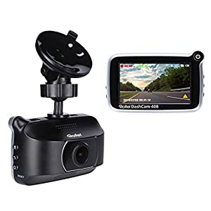 Rollei DashCam-408 High-Resolution GPS Car Camera with Full HD (1080p/30fps) and Automatic Emergency Video Recording, Including Motion Sensor and G-Sensor
