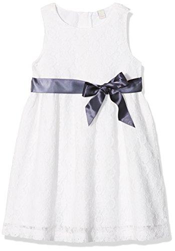 ESPRIT KIDS Mädchen Kleid RL3005312, Weiß (Off White 110), 128