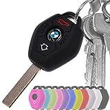 Auto Schlüssel Hülle Silikon Schutz Cover Schwarz für BMW E46 E83 E52 E85 E86 E39 E61 E60 E53