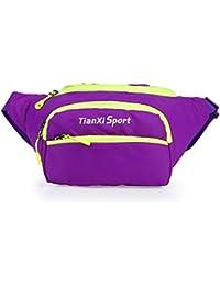 Buyworld Bum Bag Waist Packs Fashion Women Men Waist Bag Waterproof Waist Pouch Colorful Fanny Pack For Travel...