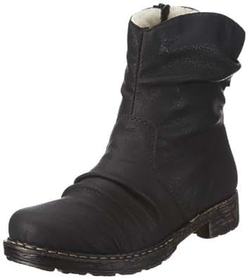 Rieker 79260 Damen Stiefeletten, schwarz (schwarz/00), 36