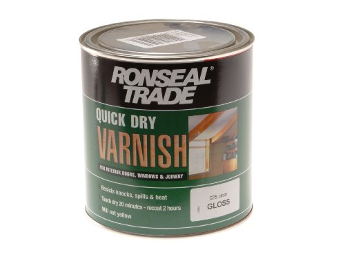ronseal-tqdvgcl1l-1l-quick-dry-varnish-trade-clear-gloss