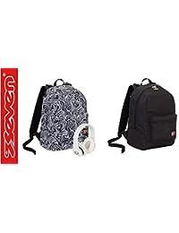 de3c913fba ZAINO SCUOLA SEVEN Reversibile Backpack MAZE GIRL - Cuffie Wireless  Incluse! + OMAGGIO 10 Penne Glietterate e Portachiave…