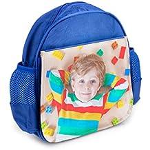 Mochila Infantil Personalizada con tu Foto o Texto para el Cole o la merienda 7,