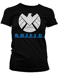 Offiziell Lizenzprodukt S.H.I.E.L.D. Damen T-Shirt