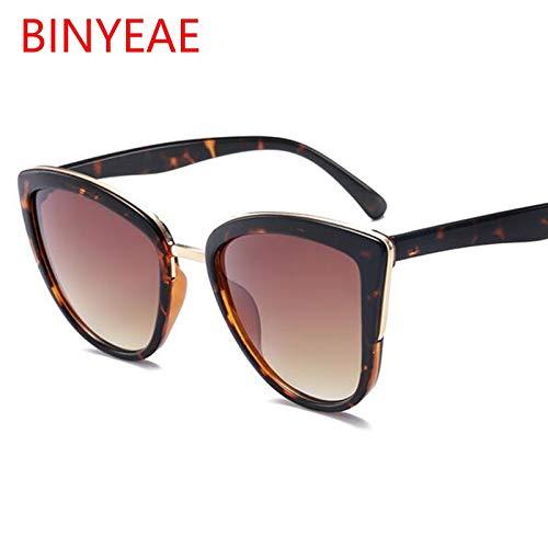 AAMOUSE Sonnenbrillen Cat Eye Sonnenbrille Frau Australien Mode SchildpattSonnenbrilleweiblichbraune Sonnenbrille Oculos