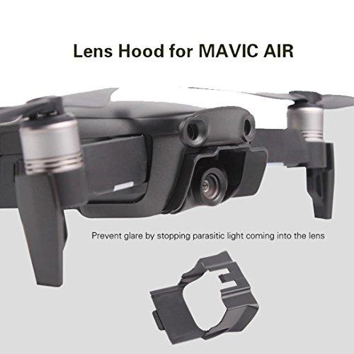 MMLC Sun Shade Lens Hood Glare Gimbal Camera Cover For DJI Mavic AIR (A) -